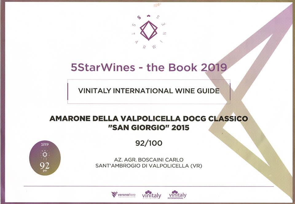 Premio Amarone della Valpolicella DOCG Classico